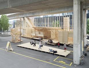 House 2 - eksperymentalny pawilon zbudowany przez studentów