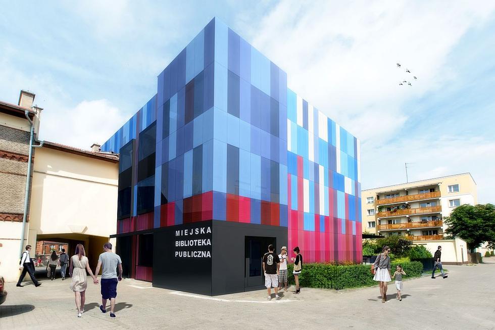 Wyniki konkursu na modernizację Miejskiej Biblioteki Publicznej w Ełku