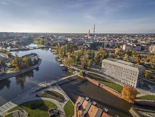 Budynek Concordia Hub we Wrocławiu